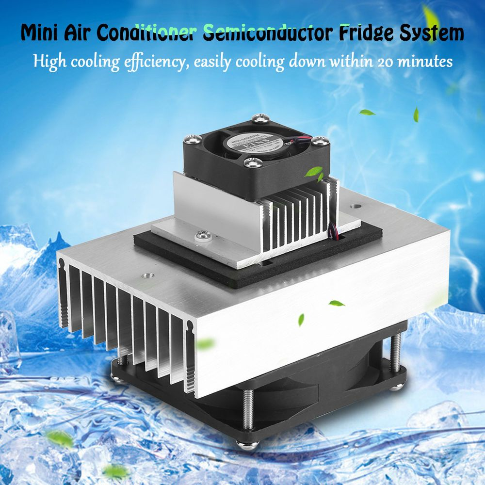 DC12V 60W Semiconductor Peltier Refrigeration Cooling