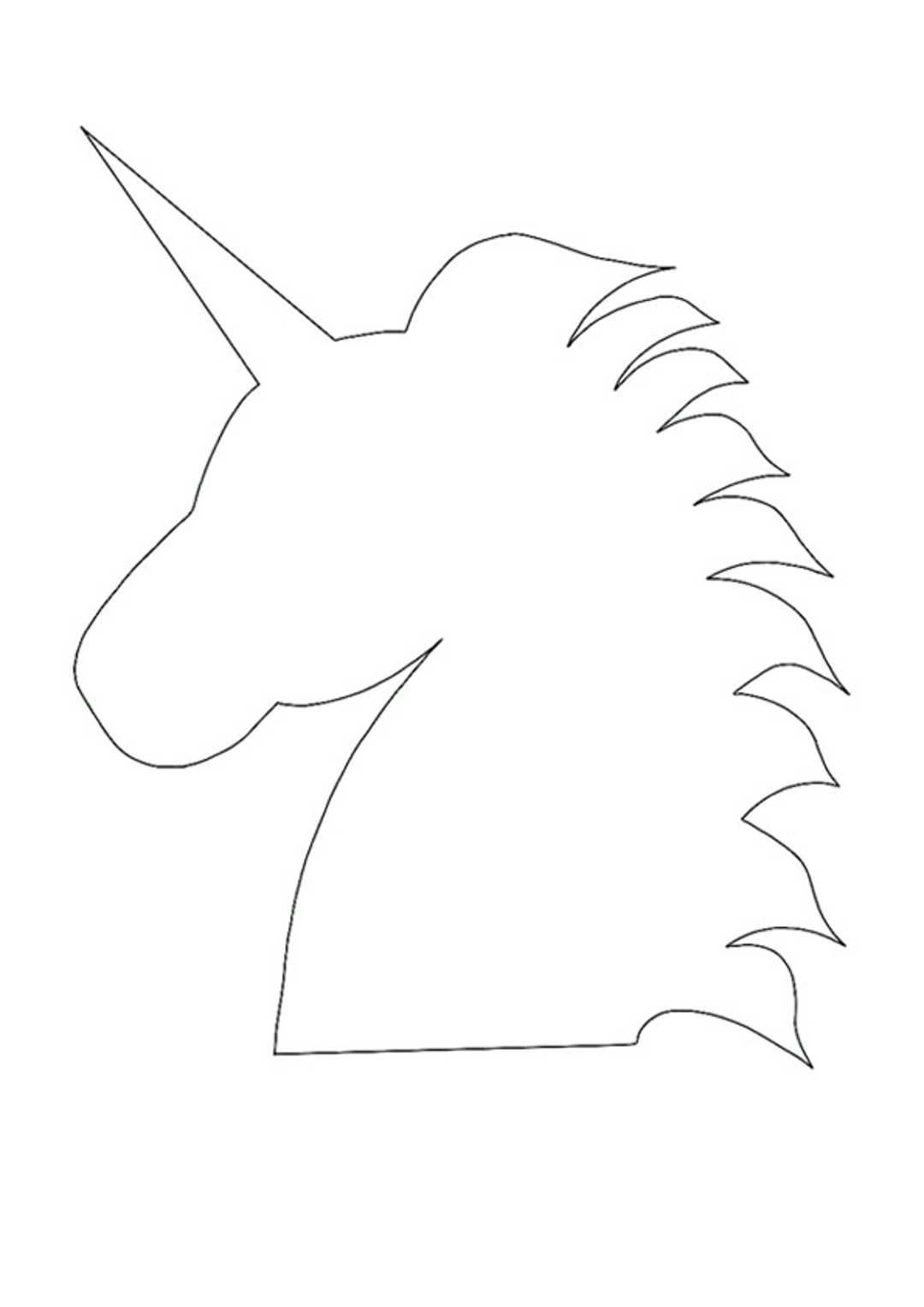 Unicorn Head Coloring Pages Unicorn Coloring Pages Free Printable Coloring Free Printable Coloring Pages