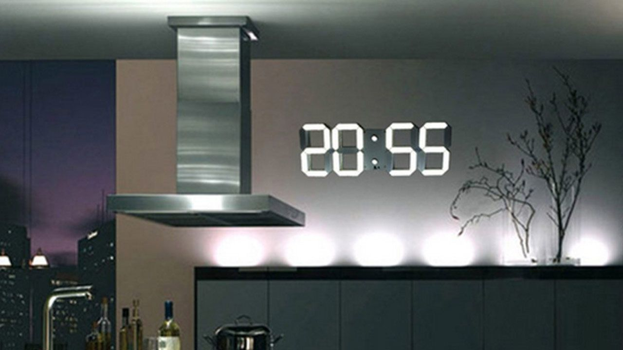 Led Wanduhren Digitale Wanduhr Mit Countdownfunktion Coolstuff Clock Flip
