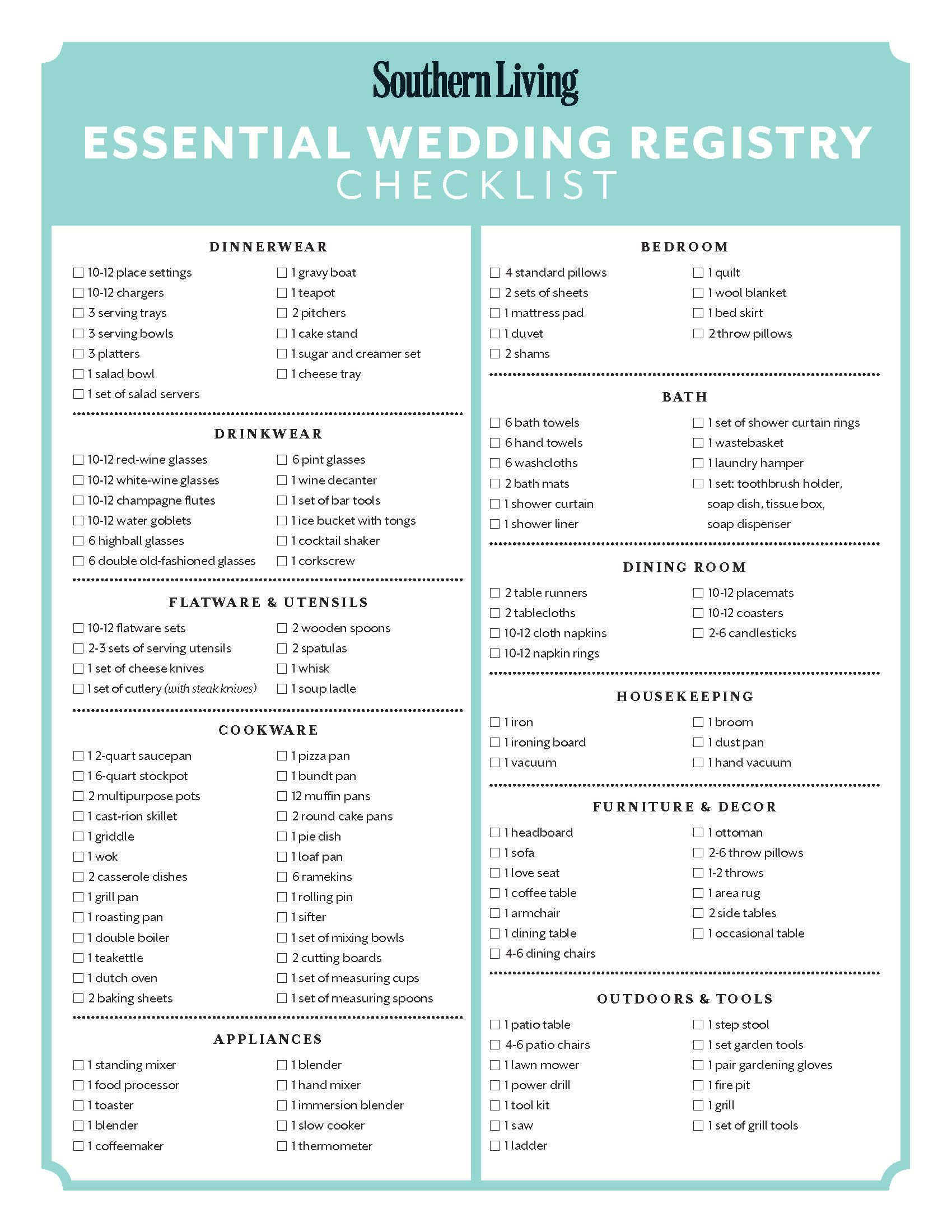 photo relating to Wedding Registry Checklist Printable identified as There are as a result a great number of Plans readily available that its complicated towards recognize