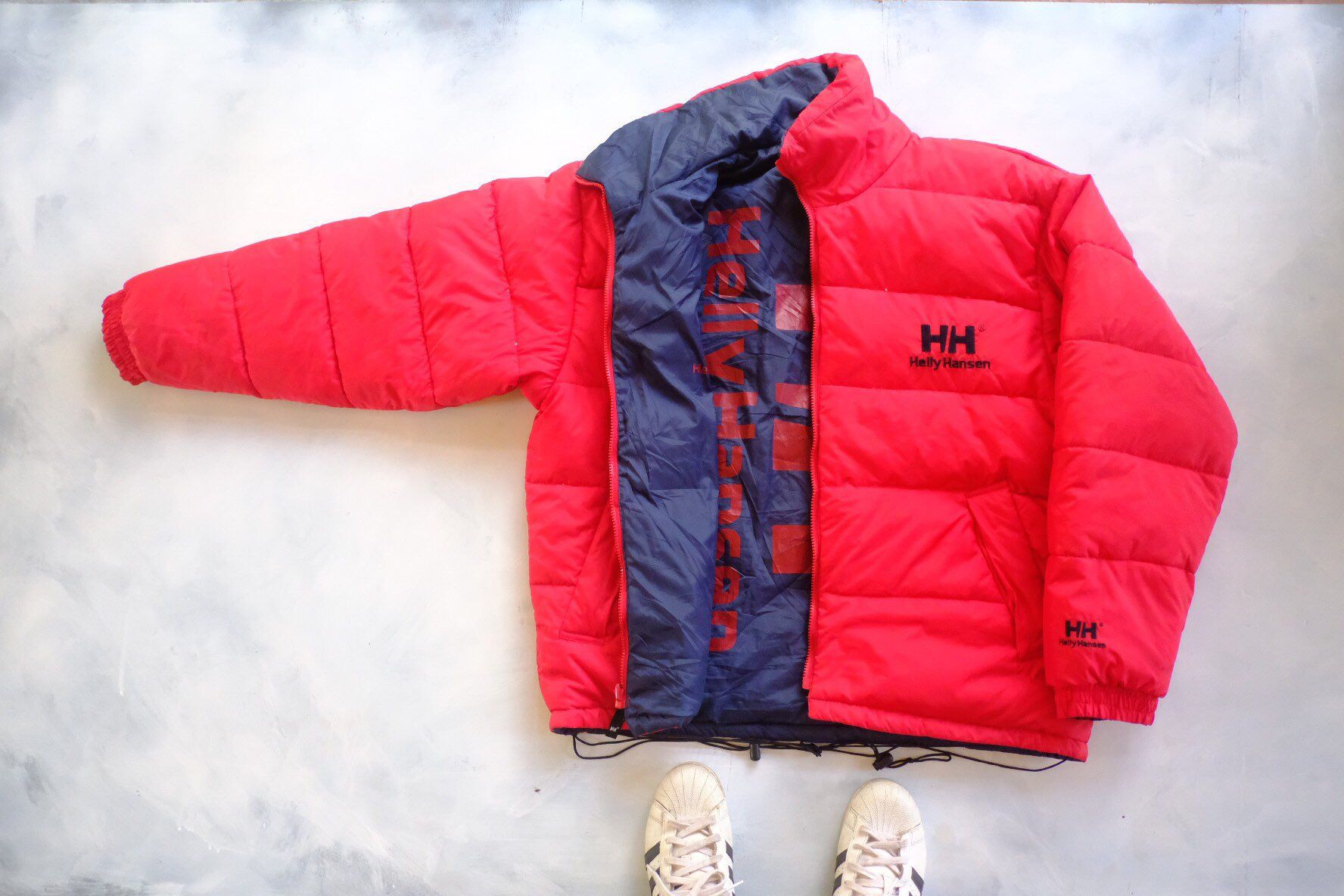 Rare Helly Hansen Puffer Goose Down Jacket Red And Dark Etsy Jackets Down Jacket Vintage Clothing Men [ 1184 x 1776 Pixel ]