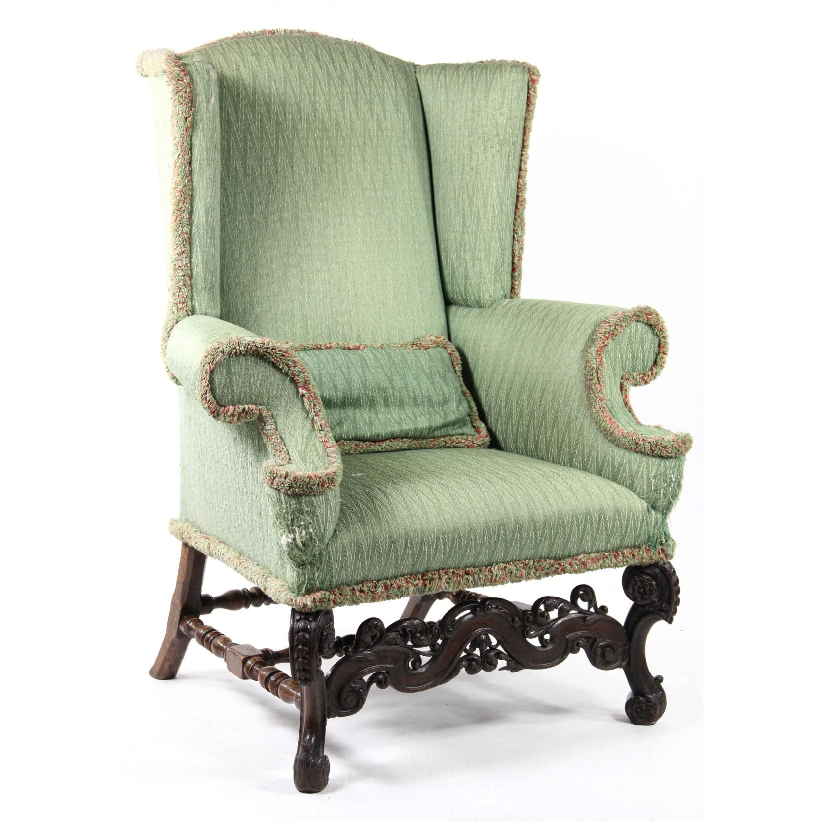 Restoration Style Wing Chair Sold $800