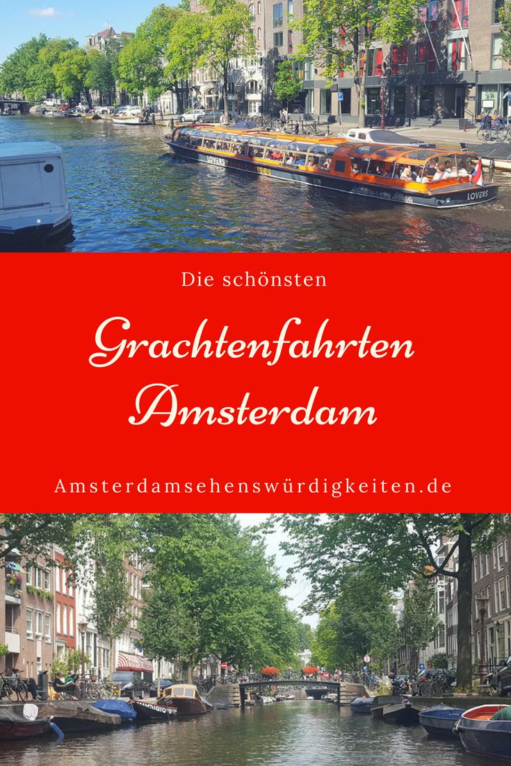 Recorrido por los canales de Amsterdam – Amsterdam sightseeing.de