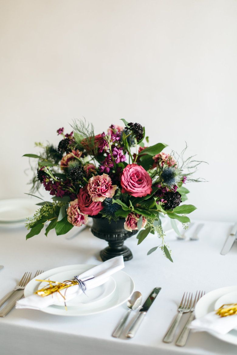 How To DIY a Floral Urn Centerpiece  Urn Centerpieces and