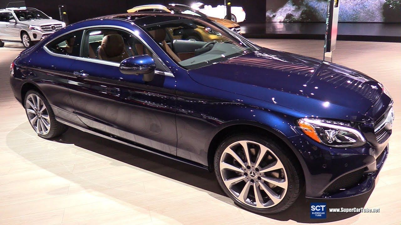 2018 Mercedes Benz C300 4matic Coupe Exterior And Interior