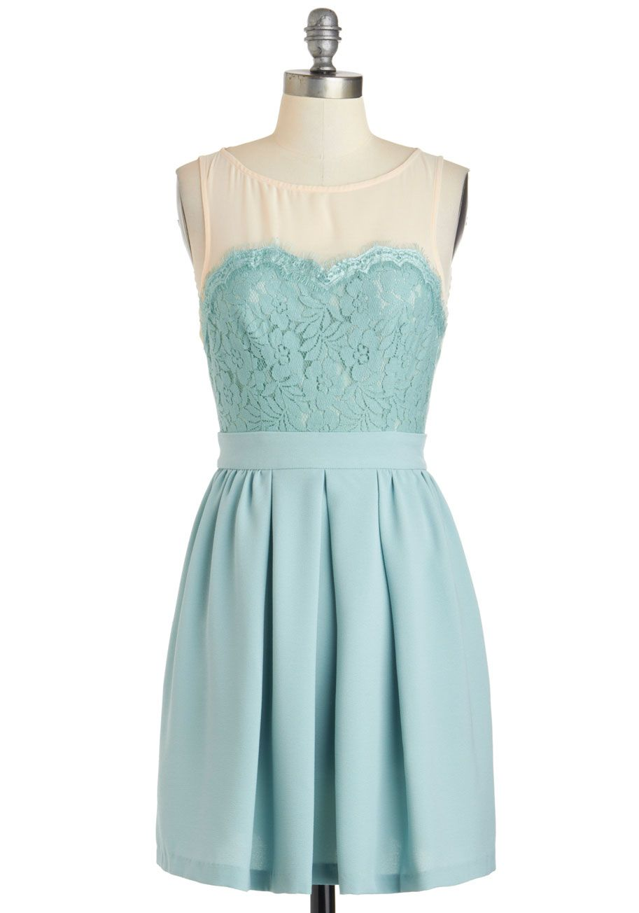 Would be a pretty Bridesmaid dress. Flower Market Date Dress - Short ...