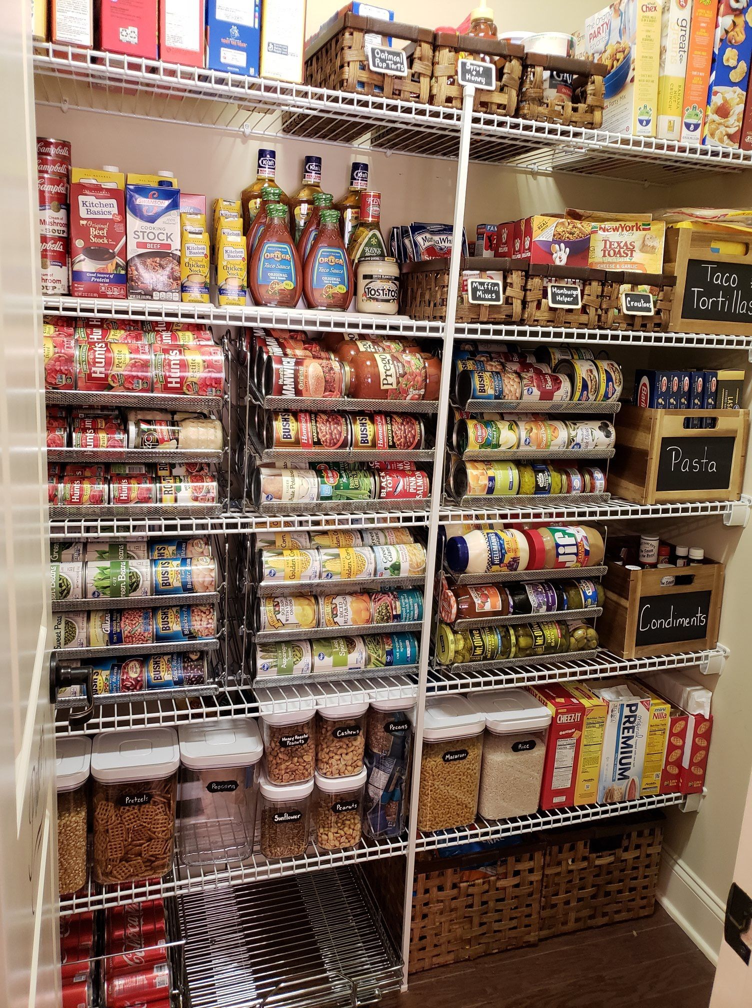 Pin By Rachel Wymer On Pantry Ideas And Organization Small