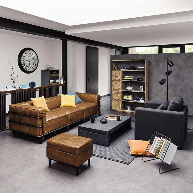 meubles deco d interieur industriel maisons du monde