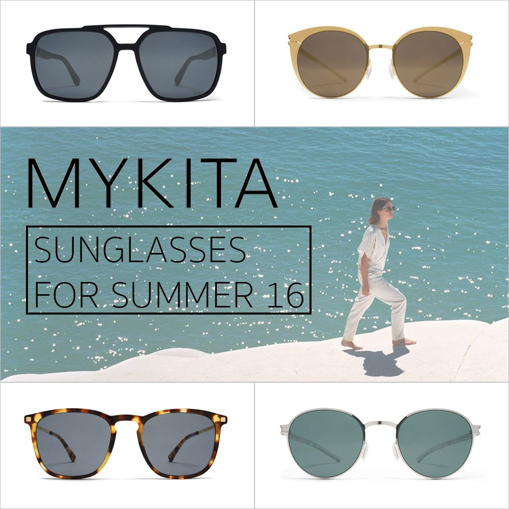 "We've selected the latest sunglasses trends by MYKITA that will leave any passerby wondering ""where did they get those?"" We've also included reports on a celebrity taking selfies with his own MYKITA frames."