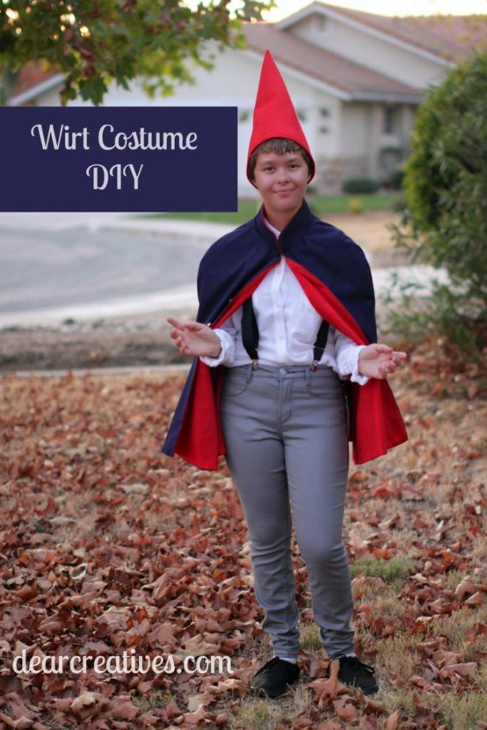 Wirt Costume Diy Sew And No Options For How To Make A