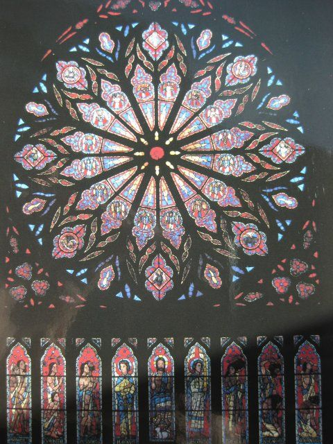 TodbjergNordkap – Rosenvinduet i Nidarosdomen