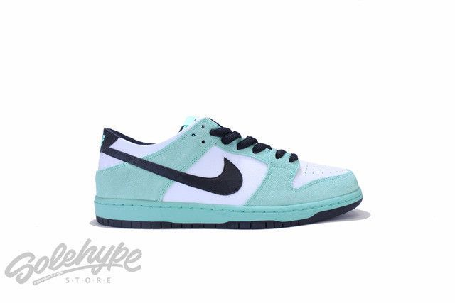 570d535fe326 NIKE SB DUNK LOW PRO IW ISHOD WAIR SEA CRYSTAL GREEN GLOW WHITE 819674 301
