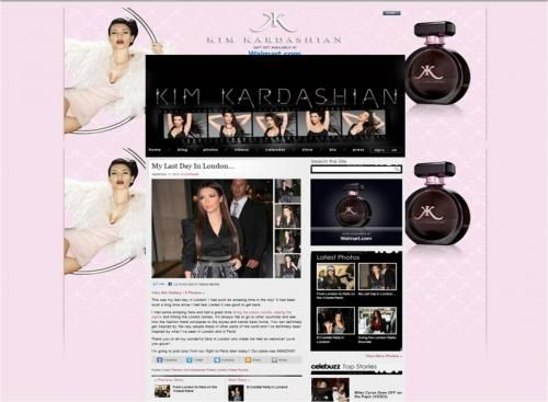 Elle Lauri in Kim Kardashian Look of the Day