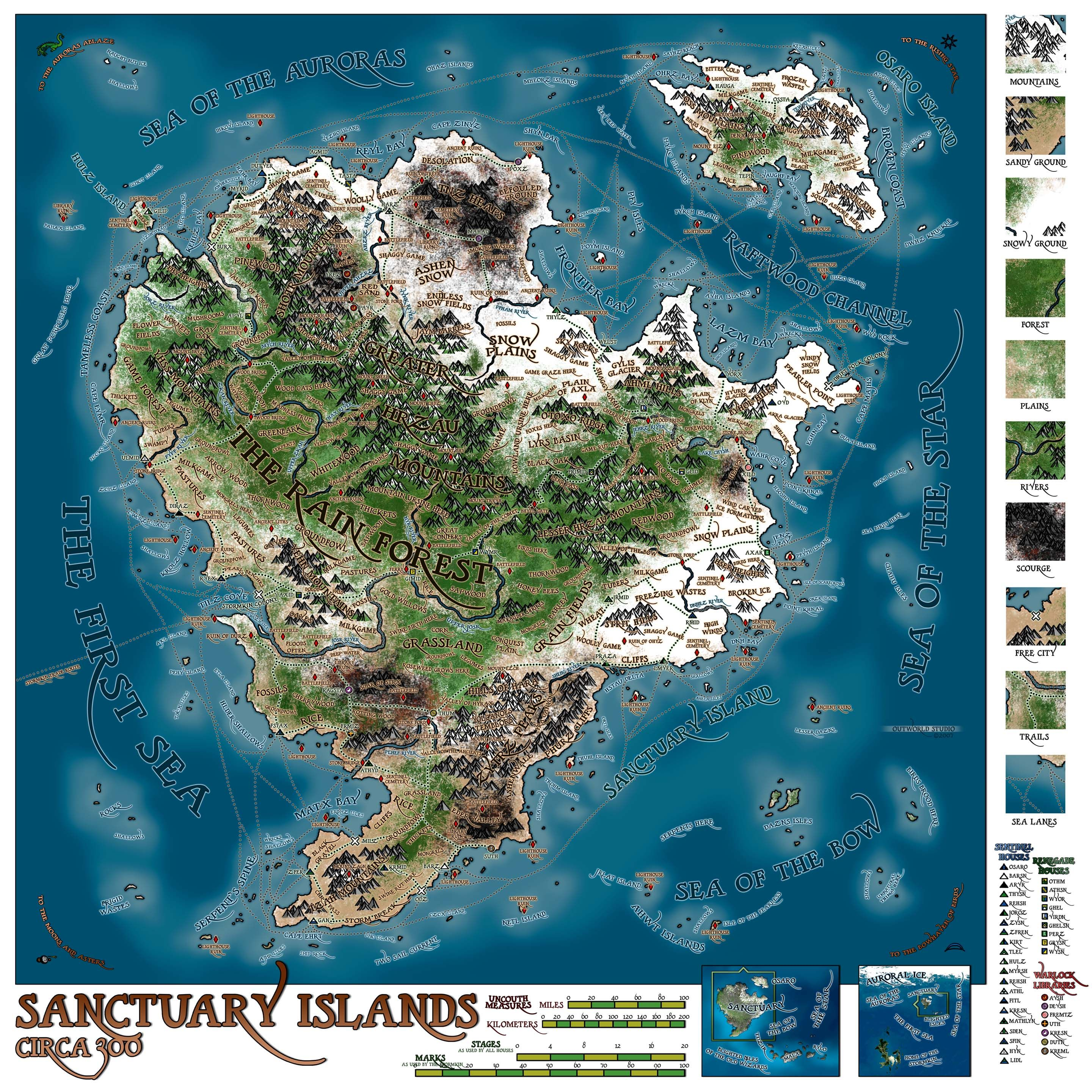 Sanctuary Islands  Book of Maps  Pinterest  Fantasy map RPG