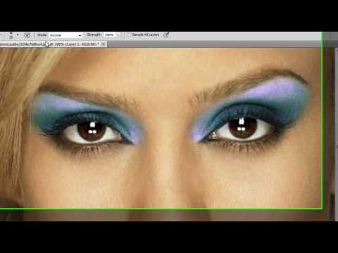 Tutorial for advanced make up effect in photoshop. | dream.