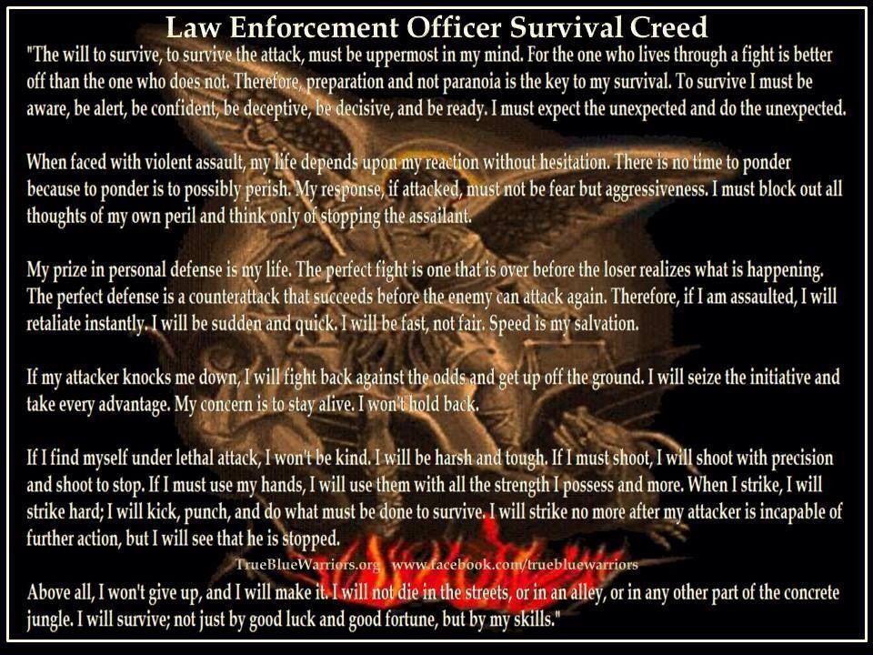 Law enfoecent police prayer Law Enforcement Pinterest