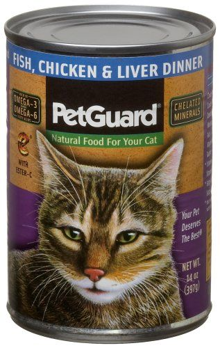 23.9933.60 Pet Guard Fish, Chicken & Liver Food for