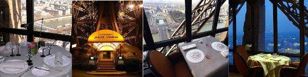파리 맛집 고급 레스토랑 에펠탑 2층 - Le Jules Verne