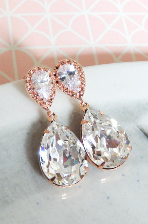 Clear Crystal Cz Round Clip On Earrings In Gold Plating 13mm D