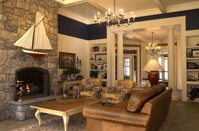 Cozy Family Room From Houzz Com Traditional Family Rooms Family Room Decorating Cozy Family Rooms