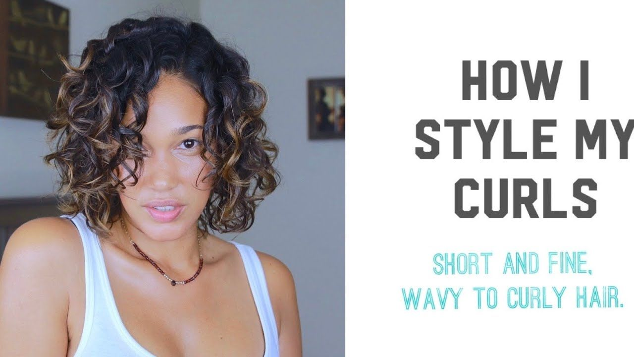 How To Styling Fine Wavy To Curly Hair 2b 3a Wavy Curly Hair