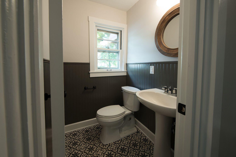 Bathroom Remodel Meridian Kessler Indianapolis In Wainscoting