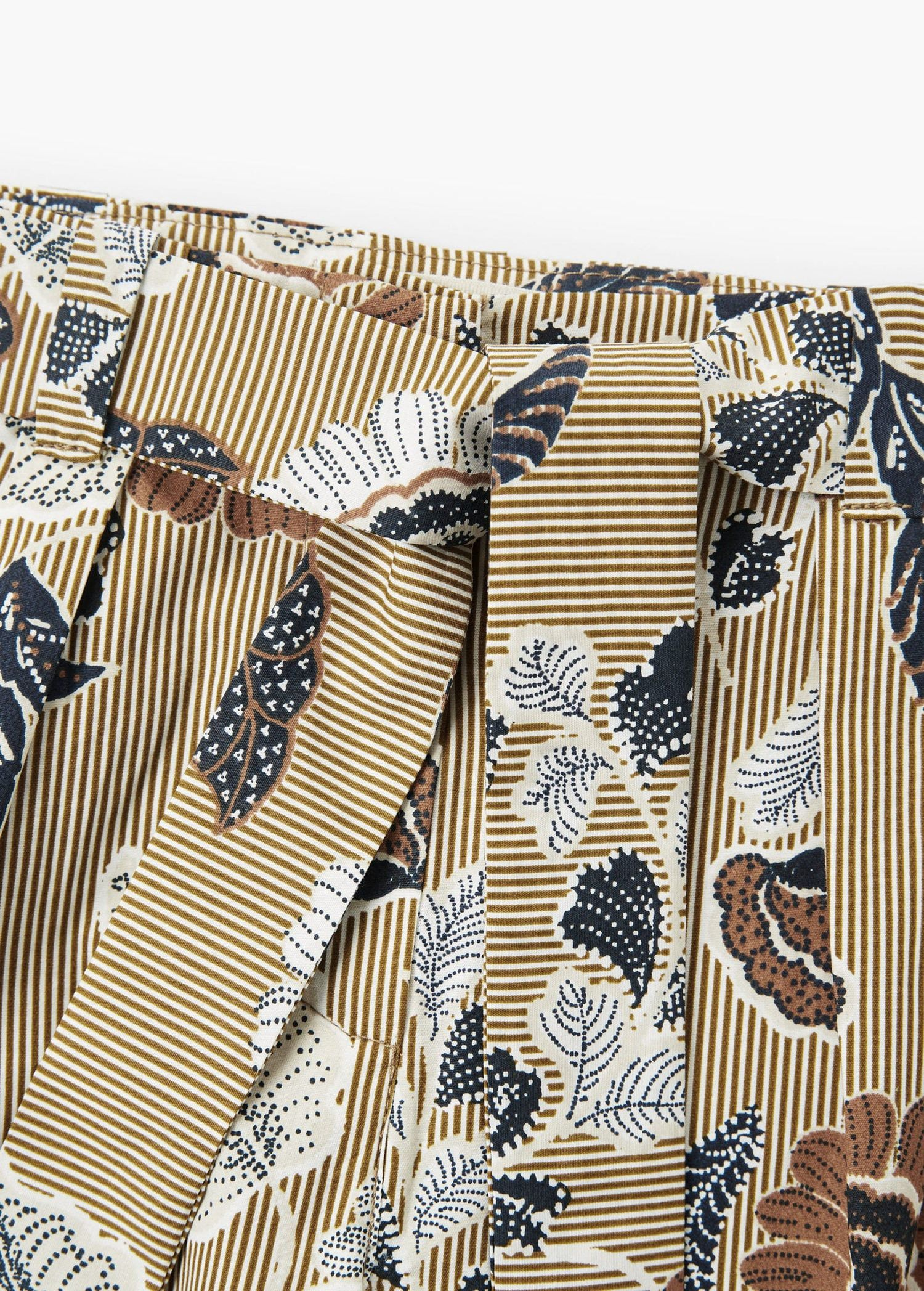 Photo of Pantalon palazzo motif floral –  Fille | OUTLET France
