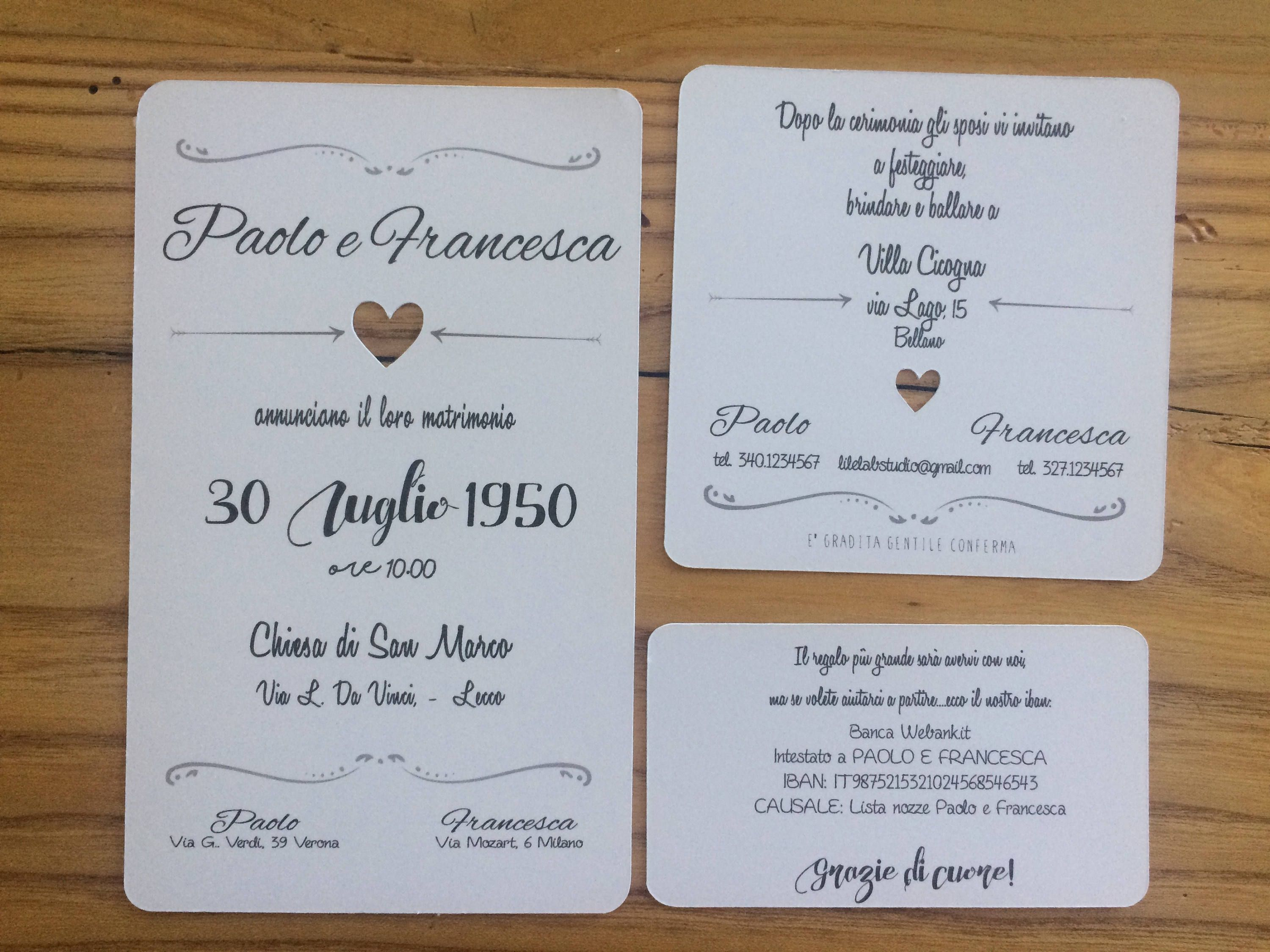 Attendances Wedding Heart Shabby Wedding Announcements Wedding Wedding List