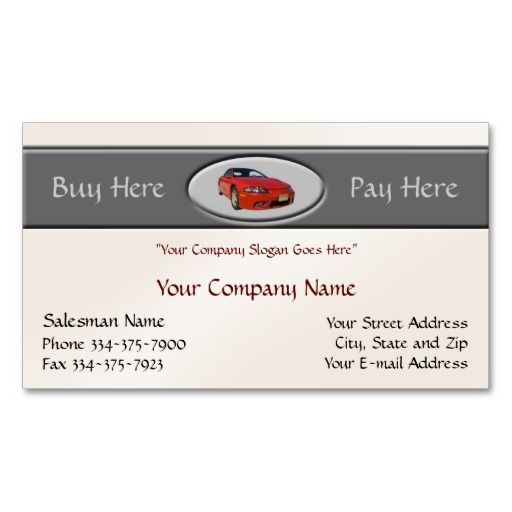 Used car dealer business card auto sales business cards used car dealer business card reheart Choice Image