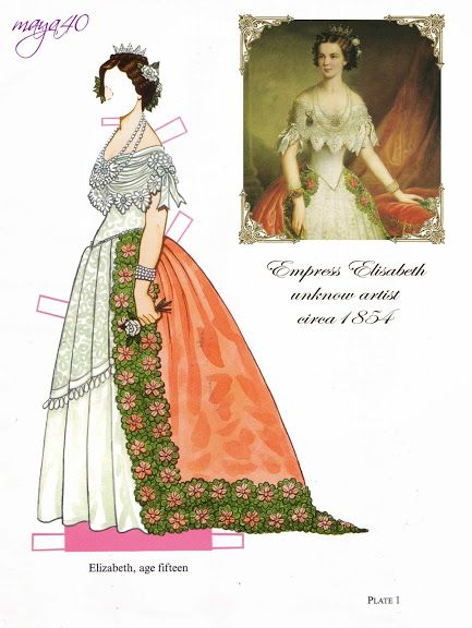 Empress Elisabeth and emperor Franz joseph paper dolls - Onofer-Köteles Zsuzsánna - Picasa Webalbum* 1500 free paper dolls at artist Arielle Gabriel's The International Paper Doll Society also free China paper dolls at The China Adventures of Arielle Gabriel, the Canadian travel site on Hong Kong & China