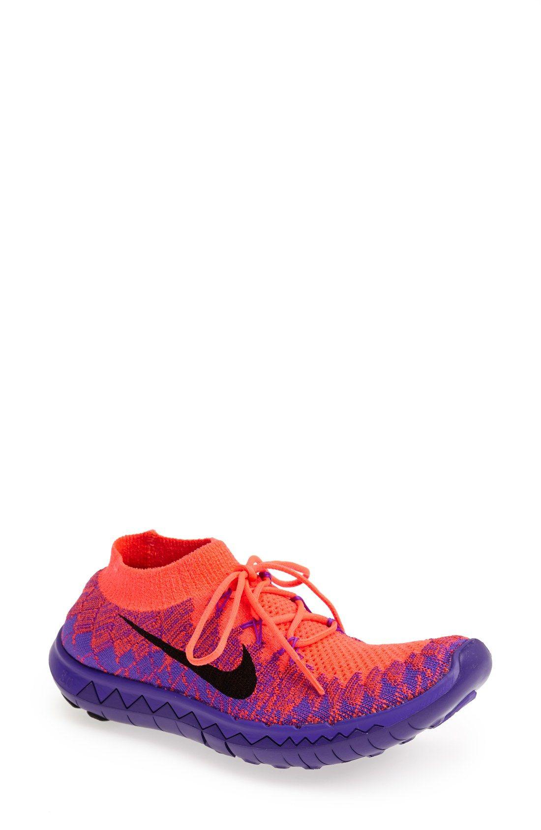 Nike 'Free Flyknit 3.0' Running Shoe (Women)   Nordstrom
