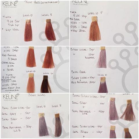 Keune Tinta Color Formulas Hair Color Formulas Hair Color Hair