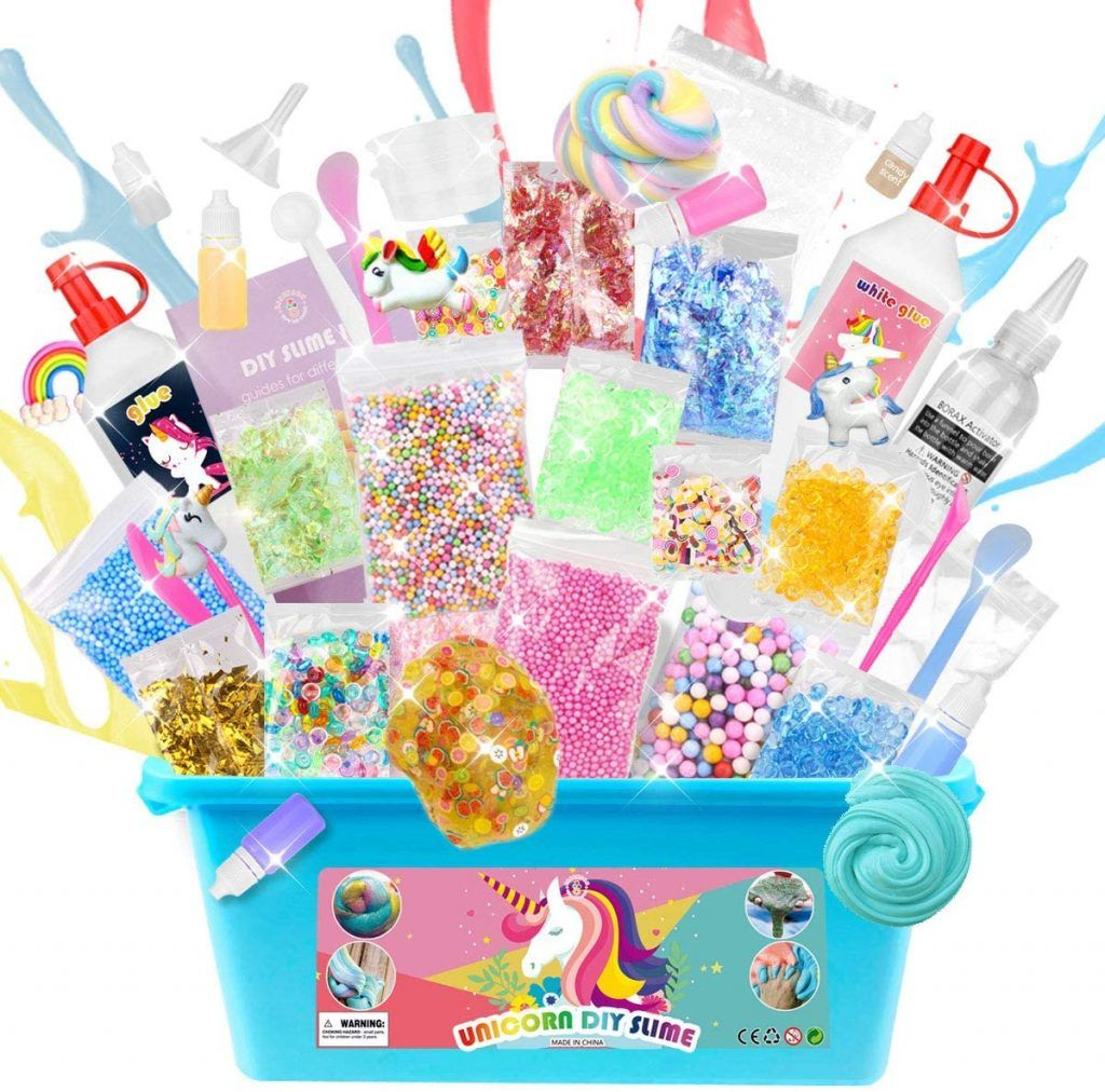 You Can Get Slime Kits Delivered To Your Door For Kids Who Are Stuck Inside Slime Kit Homemade Slime Kit Homemade Slime