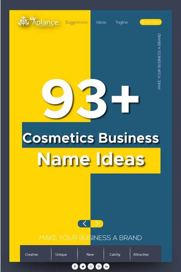 Cosmetics Name Ideas Flower Shop Names Shop Name Ideas Business Names