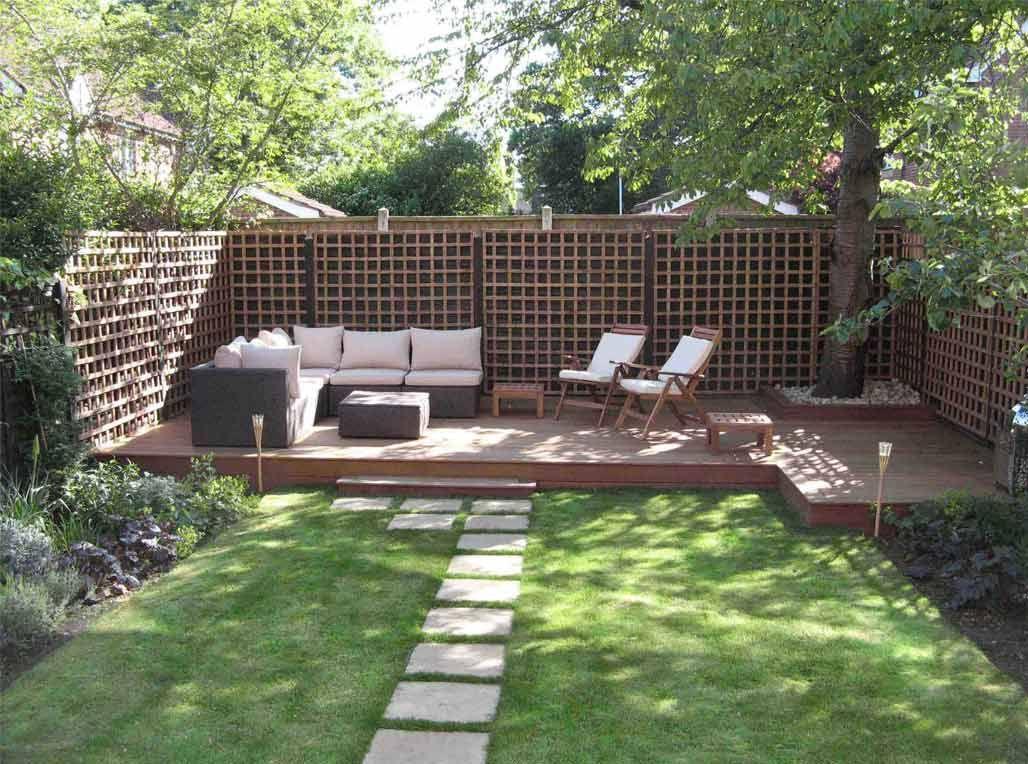 jardines pequeños con terraza - Buscar con Google | deco casa ...