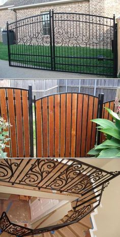 Fence Installation Services Wrought Iron Garden Gates Iron Garden Gates Iron Work