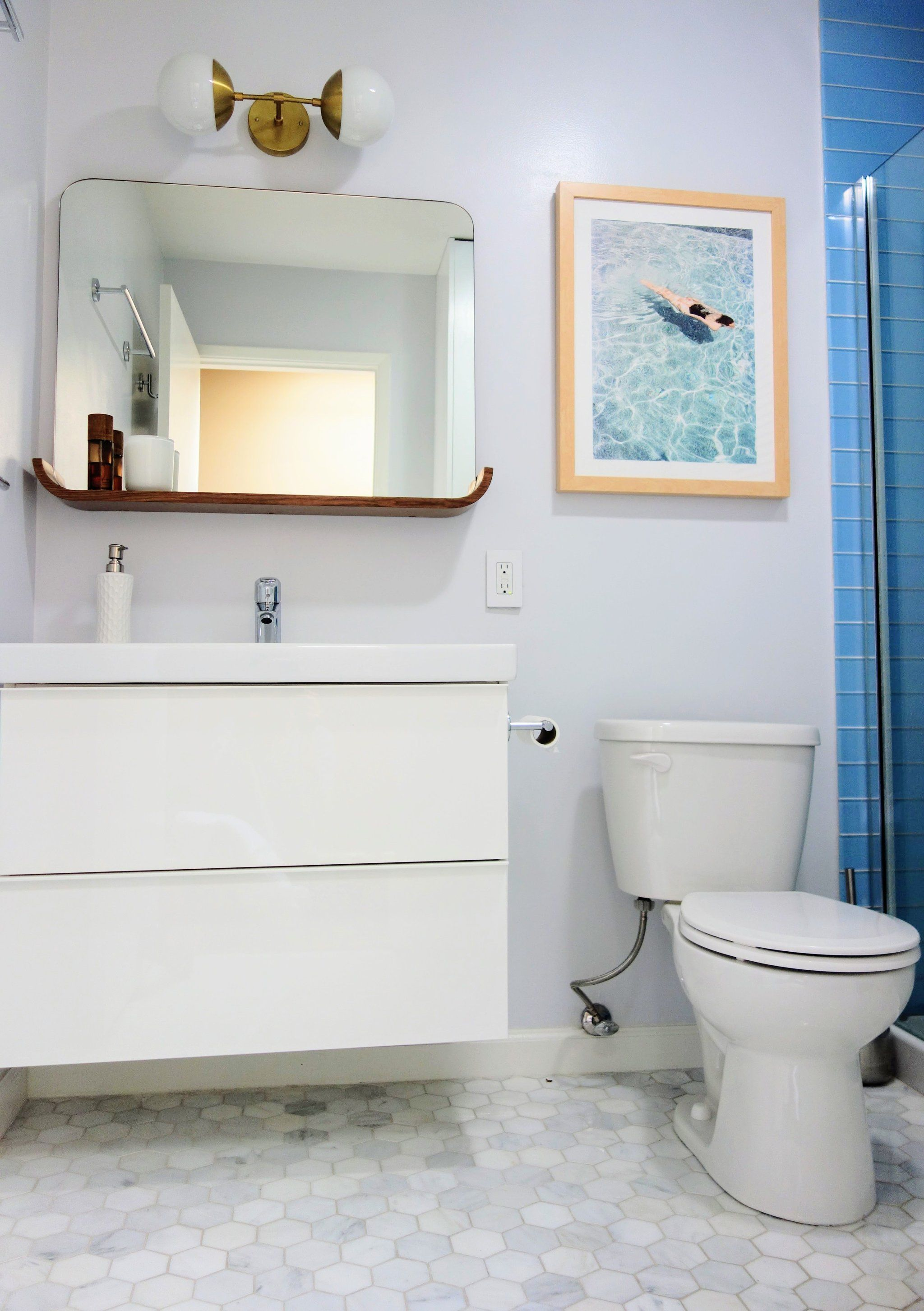7 Bathroom Updates That Increased the Value of My Home | Toilet ...