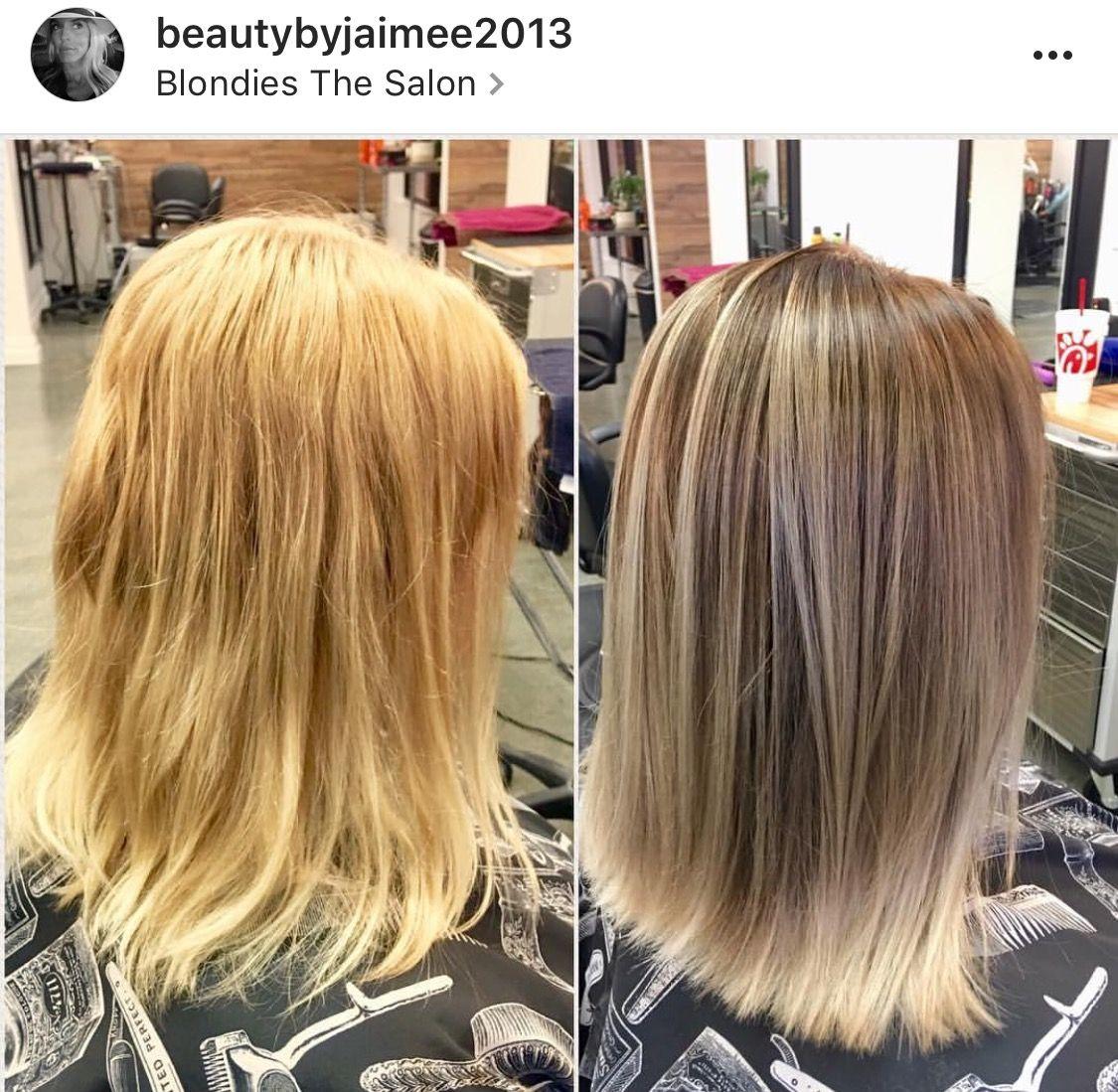 Brassy Blonde To Platinum Silver Ombre Hotonbeauty Com Long Blonde