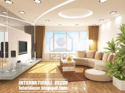 10 der neuesten Zwischendecke designs Ideen für das Interieur - wohnzimmer ideen decke