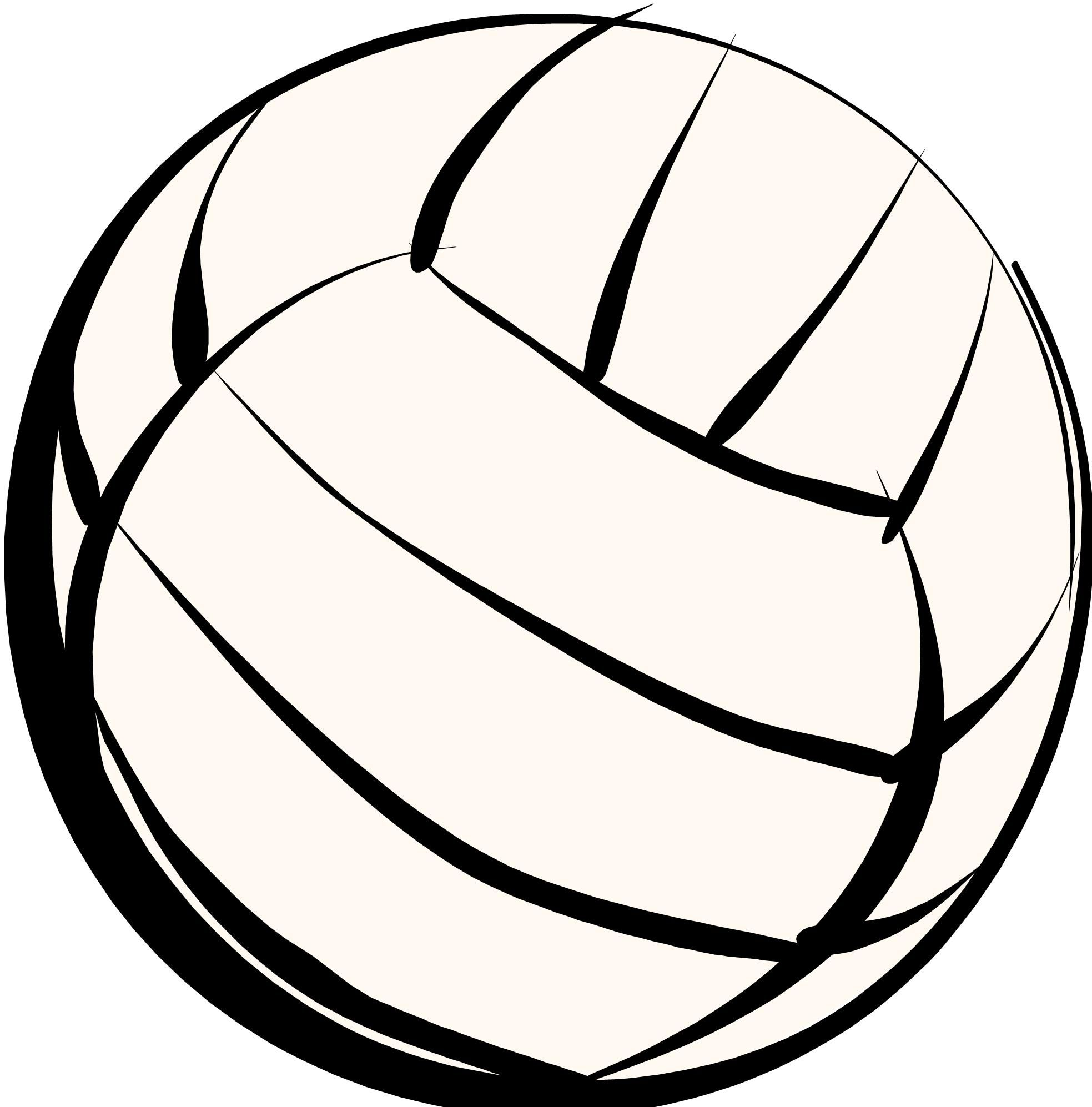 Volleyball Image Vector Clip Volleyball Pictures Volleyball Images Volleyball Clipart