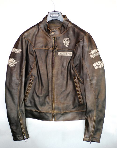 c19e8ccd66f Ducati leather jacket Padres