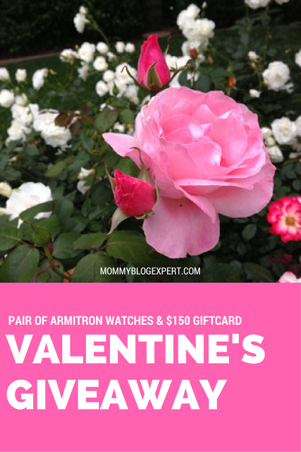 Mommy Blog Expert: Valentines Day Armitron Watch Giveaway, Hurry Ends Feb 13th
