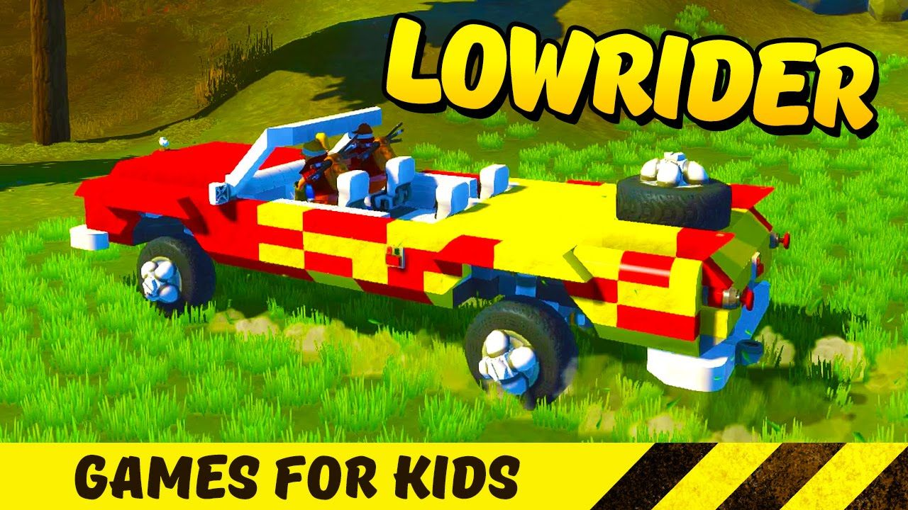 Crazy Lowrider! Build toys and construction games for kids