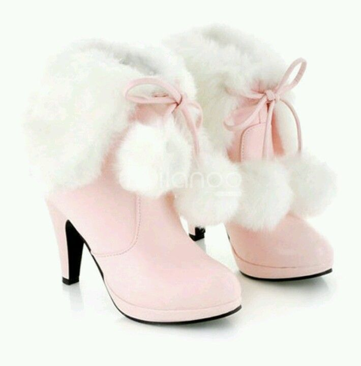 Boots with the fur...and their pink!!