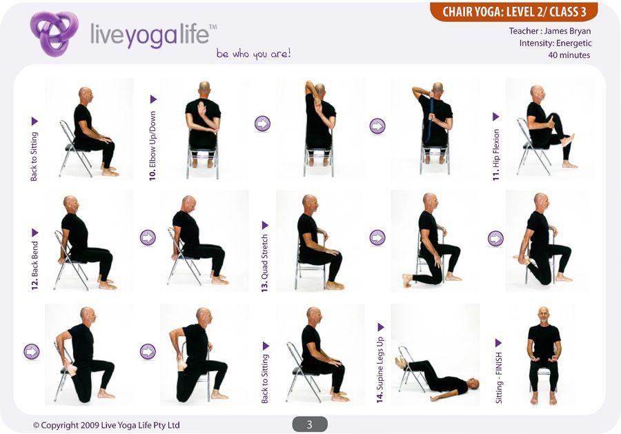 Chair Yoga Sequence Pdf