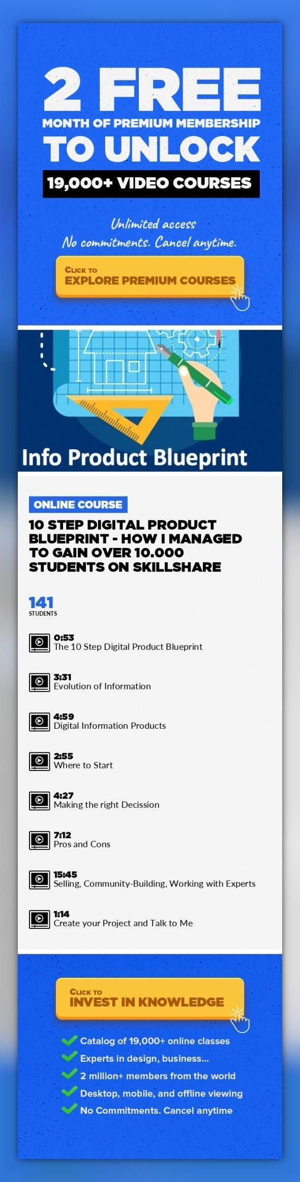 10 step digital product blueprint how i managed to gain over 10 step digital product blueprint how i managed to gain over 10000 students on skillshare marketing lifestyle teaching skillshare social malvernweather Choice Image
