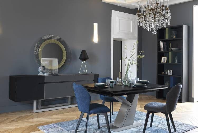 Table Rectangulaire Pied Y Tables De Repas Meubles Gautier Decoration Maison Sallon Salle A Manger Mobilier De Salon
