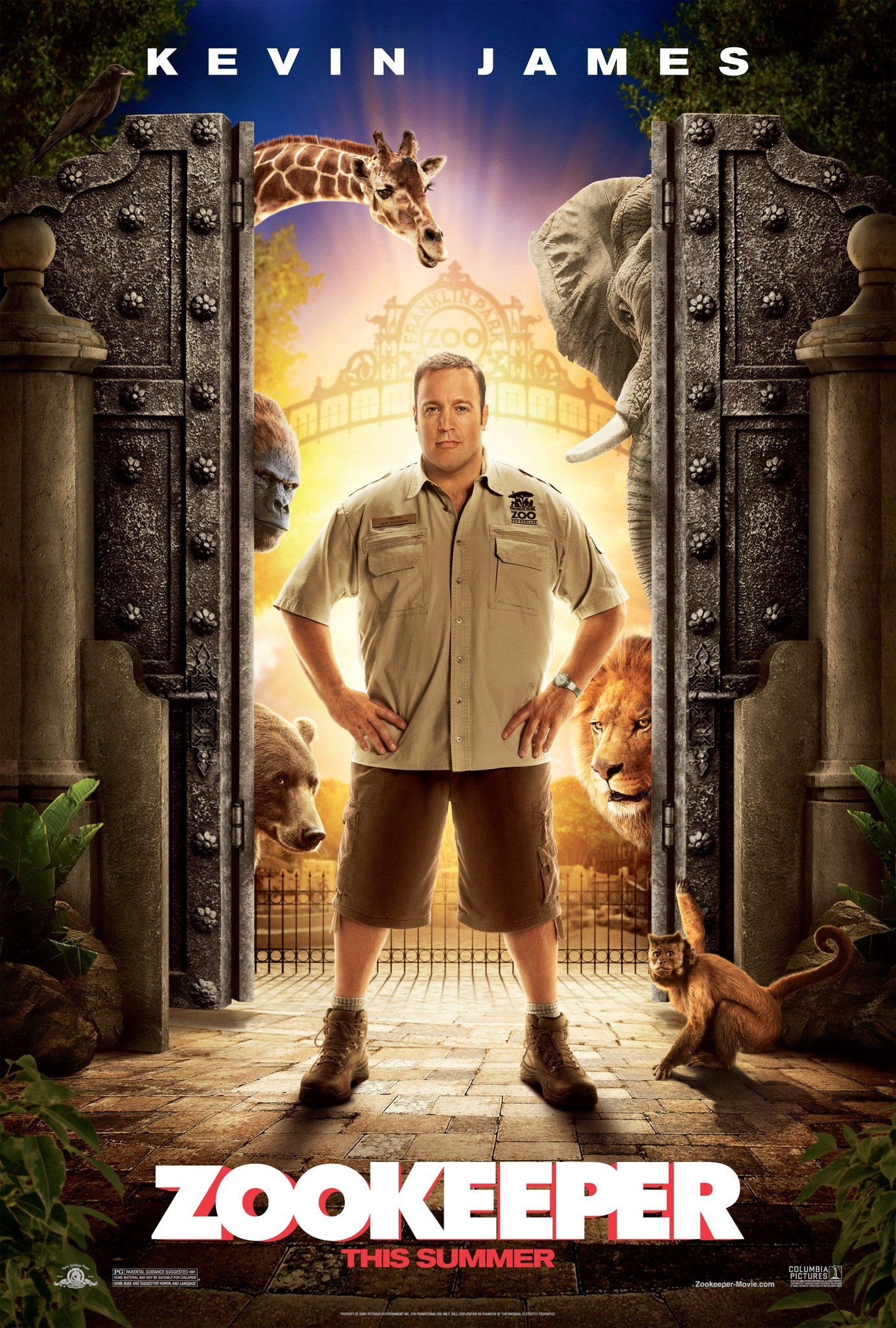 Zookeeper (2011) Bluray 720p Comedy movies, Kevin james