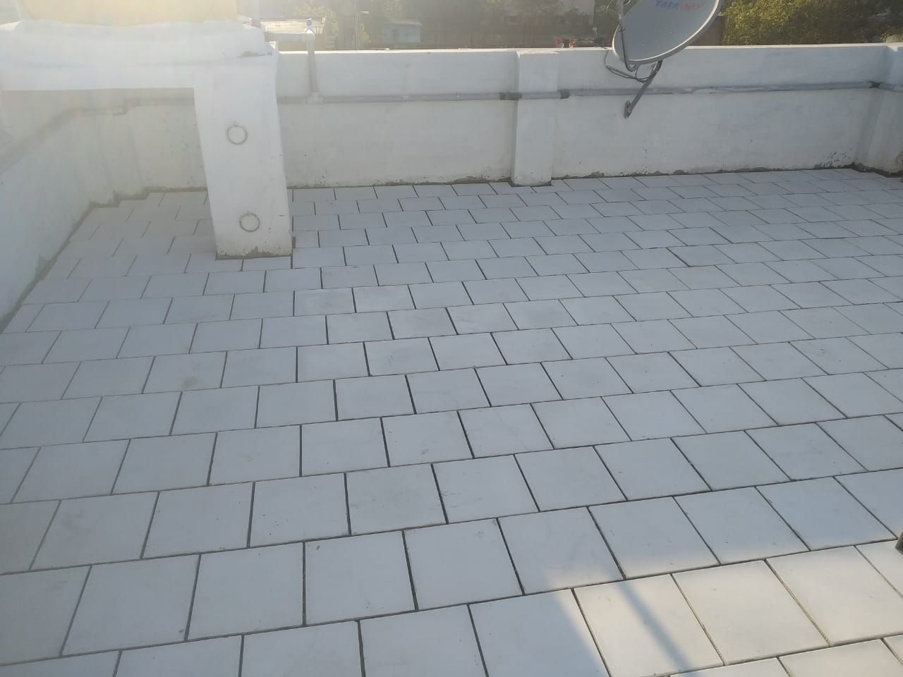 White Feet Cool Roof Tiles In 2020 Cool Roof Roof Tiles Clay Tiles