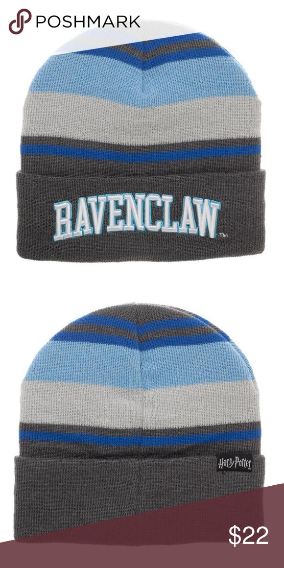 d7e7b42266b26 Harry Potter Ravenclaw Beanie Hat - Adult This is for 1 Harry Potter themed beanie  hat